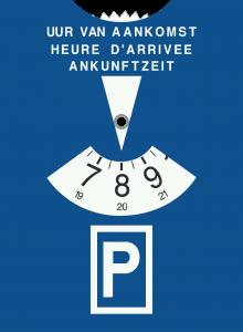afbeelding parkeerschijf